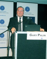 Gary Palin speaking at MIT Global Startup Workshop in South Africa