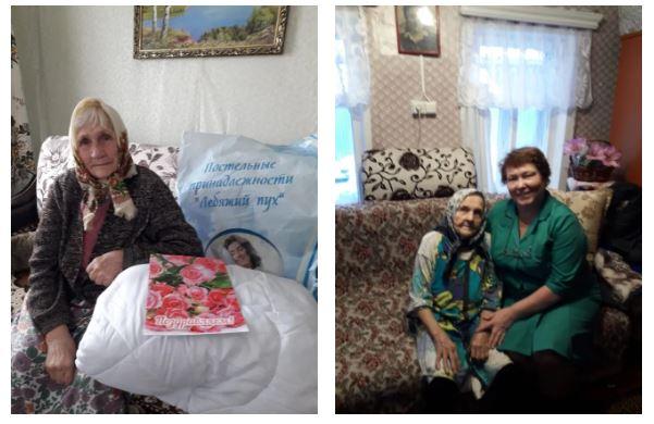 Посещение тружеников тыла в Набережно Челнинском ЗУЭС