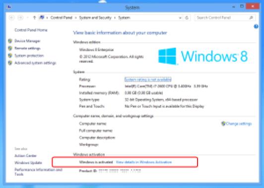 Windows 8 Activator 32/64 bit Download