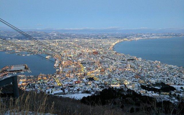 Vistas de Hakodate