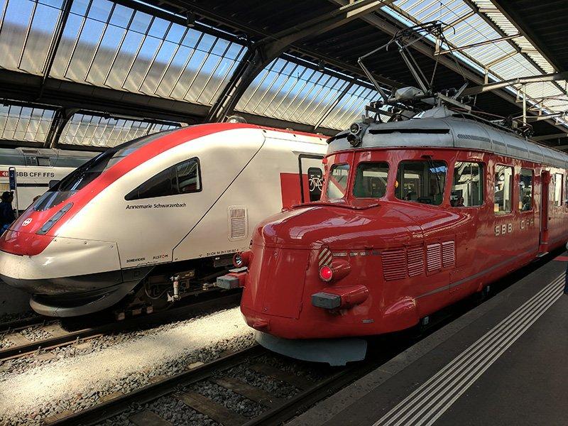 Tren turístico Zúrich