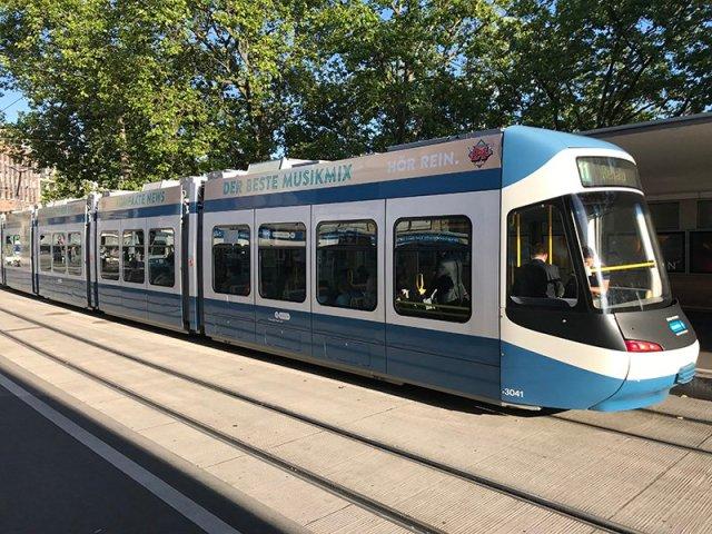 Tranvía en Bellevue