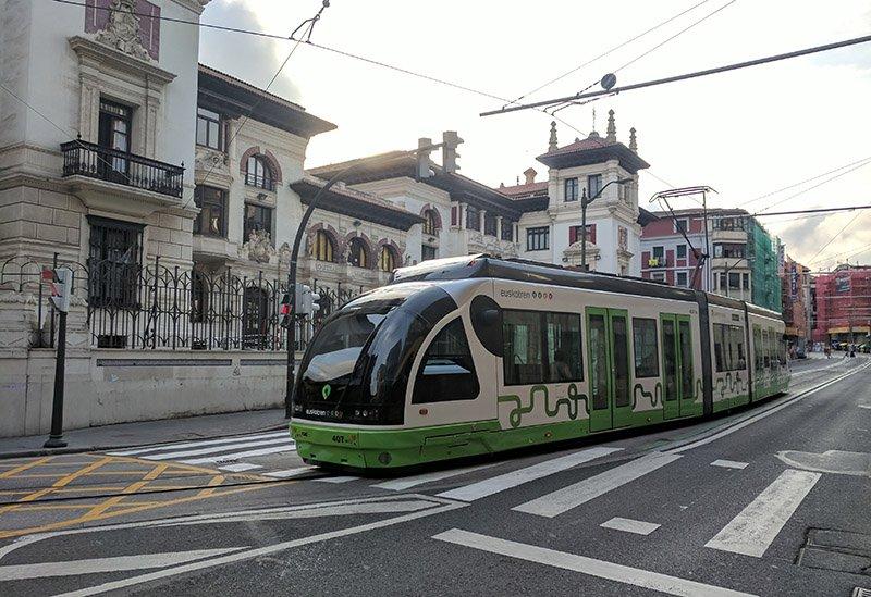 Tranvía Bilbao
