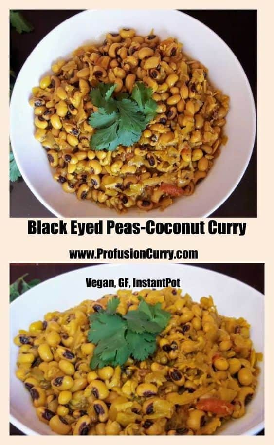 Black Eyed Peas Coconut Curry-ProfusionCurry