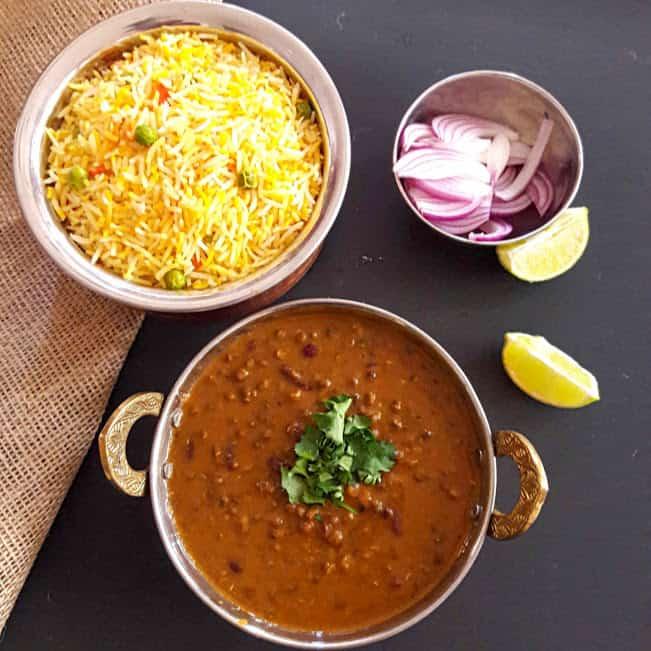 Dal Makhani Recipe-InstantPot