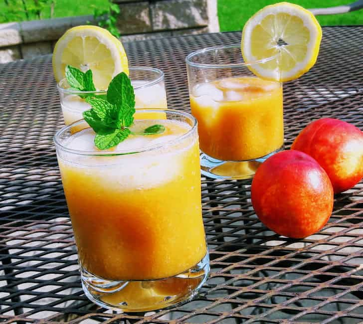 SUNRISE PEACH DRINK