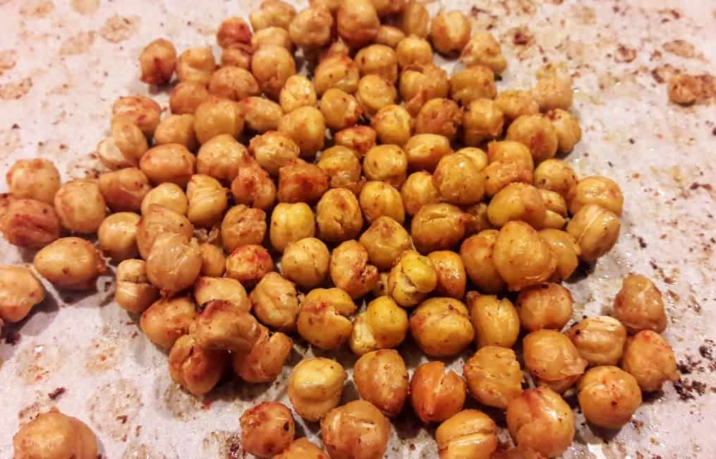 Spicy Roasted Chickpeas/ Dry Masala Chole