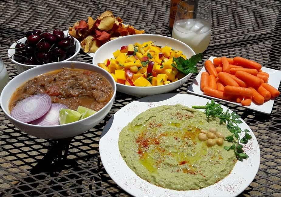 Cilantro Jalepano Hummus