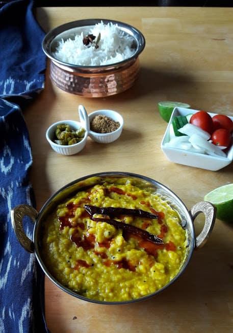 Dal Tadka – Dal Fry – Spicy Indian Lentils – InstantPot