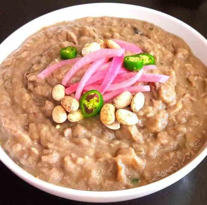 Pinto Beans – Refried Beans – Instantpot