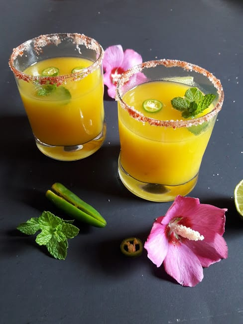 Mango Mocktail-Aam Panna-InstantPot