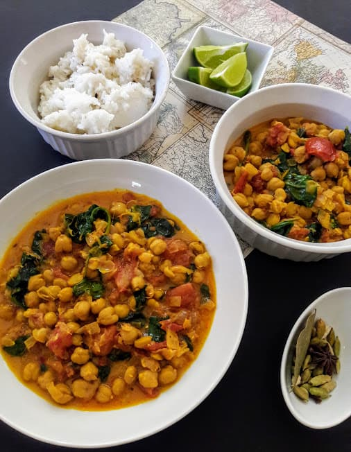 Chickpea Coconut Curry-InstantPot