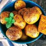 Roasted Masala Potatoes InstantPot