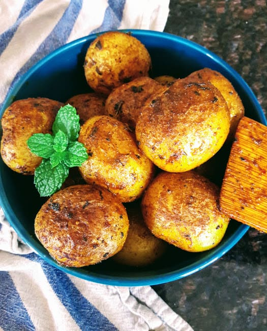 Roasted Masala Potatoes – InstantPot