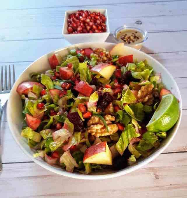 Rainbow Autumn Salad Recipe