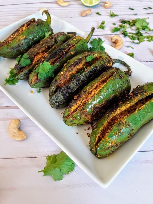 Indian Stuffed Jalapeño Peppers
