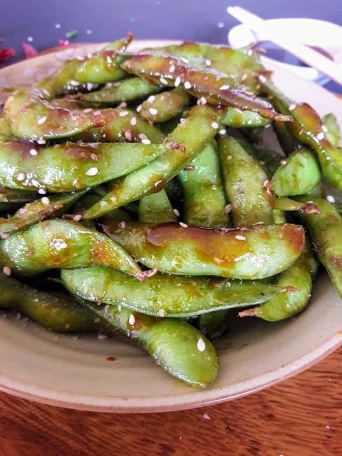 Chili Garlic Edamame Recipe
