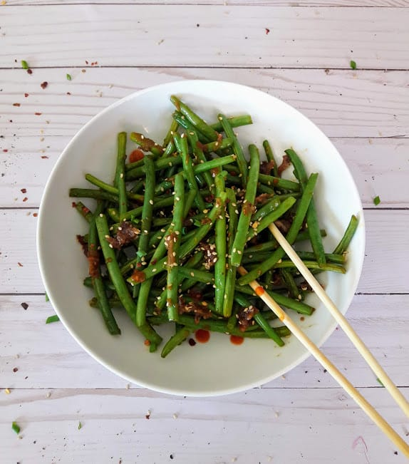 Chinese Spicy Green Beans Recipe