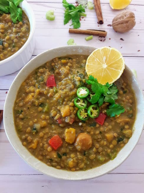 Moroccan Lentil Stew ProfusionCurry