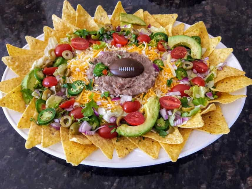 Super Delicious Game Day Nachos