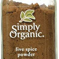 Simply Organic Five Spice Powder, 2.01 Ounce