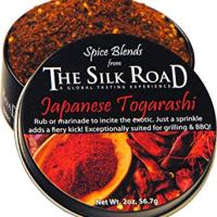 Japanese Togarashi Spice Blend from The Silk Road Restaurant & Market (2oz), No Salt | All Natural Seasoning | Vegan | Gluten Free Ingredients | NON-GMO | No Preservatives