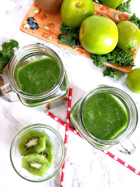 Kale Apple Green Superfood Smoothie