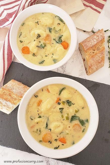 Creamy Gnocchi Soup Recipe – Instantpot