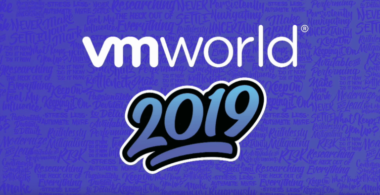 VMworld Europe 2019: key announcements and unpacking of the legendary backpack