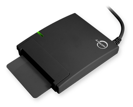 Smart card reader JCR721 – overview of features and functions