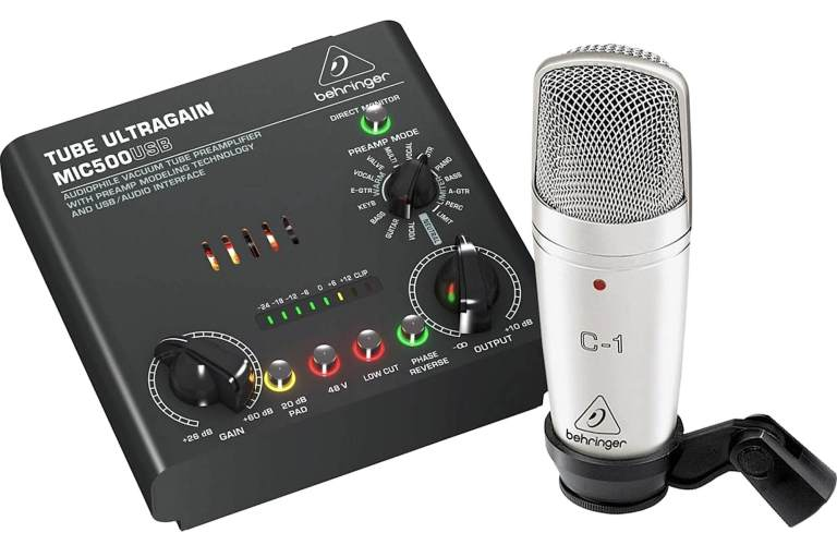 A couple of available bundles with audio recording devices – who are they for and what's inside