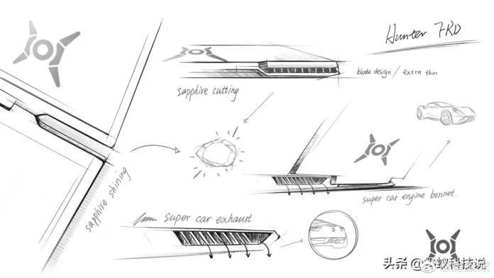 концепт игровых ноутбуков Honor Hunter