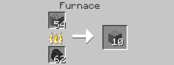 Как Скрафтить Гладкий Камень в Minecraft?