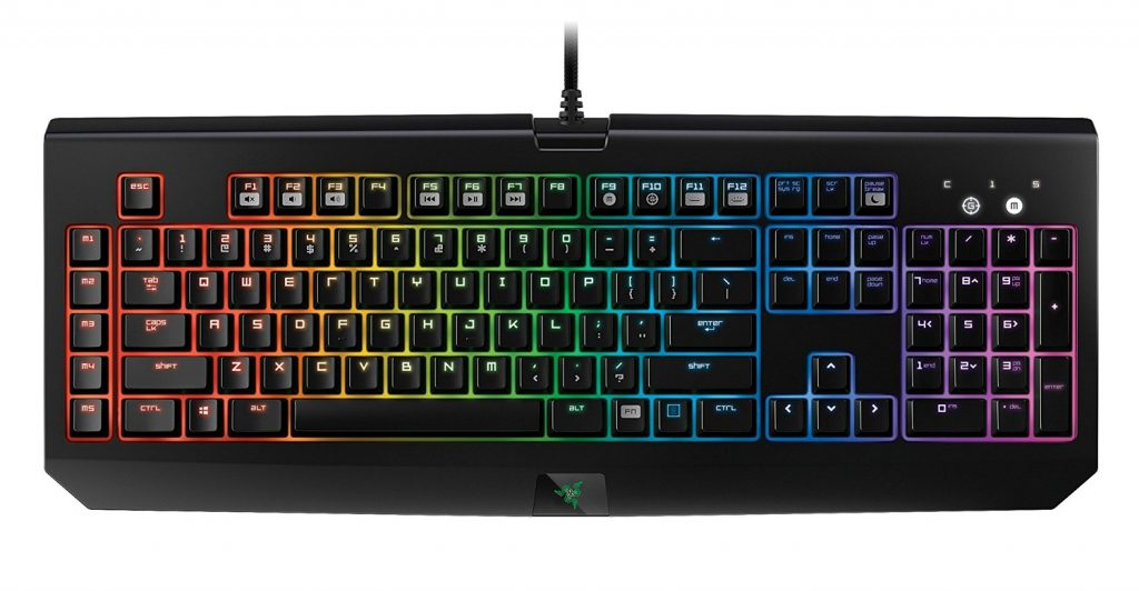 image of mechanical keyboard from Razer