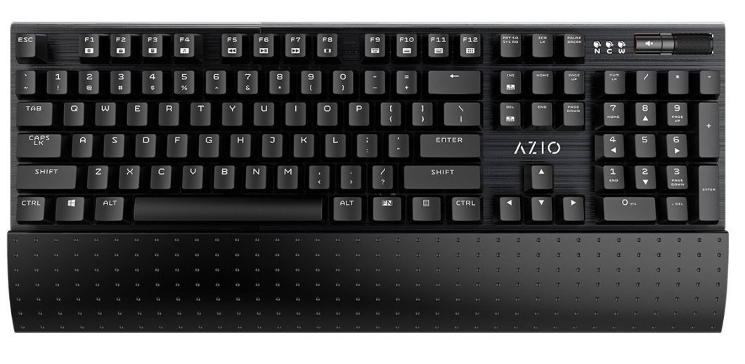 Image of keyboard from Azio