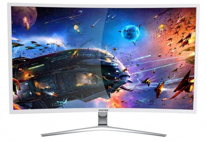 Image of budget curved gaming widescreen