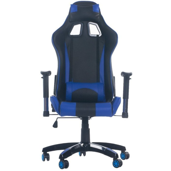 Image of blue pc chair for gamers