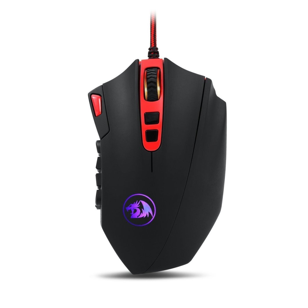 image of Reddragon mmo pc gaming mouse