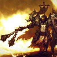 Diablo wallpaper of Male crusader