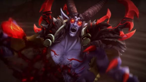 Picture from Xavius cinematic from World of Warcraft