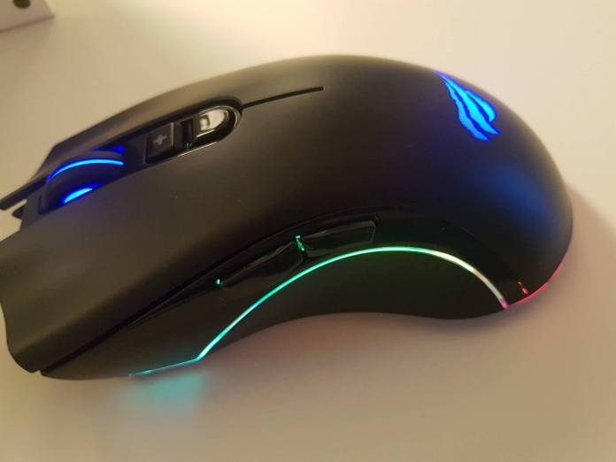 Image of a cheap gaming mouse
