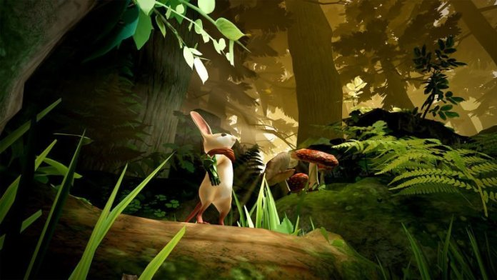 Image from Moss Virtual reality game