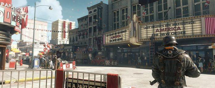 Screenshot from Wolfenstein 2 the new colossus