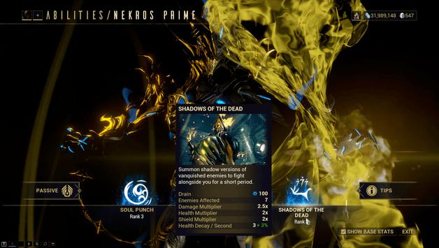 Nekros Prime Build