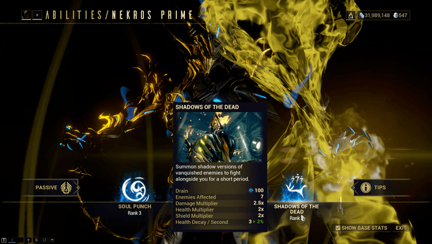 Nekros Prime Build