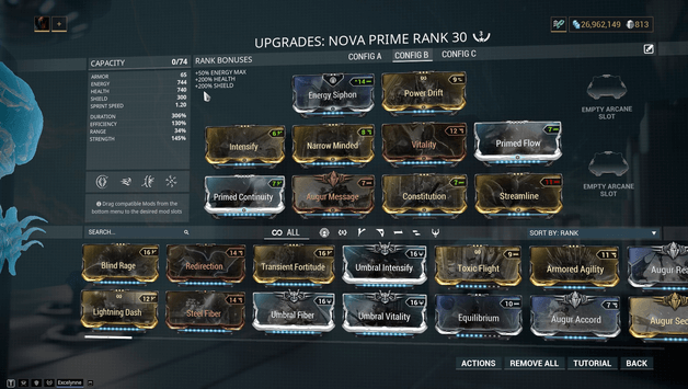Warframe Nova Speed Up Enemies – Bit.ly/2wi3pbz a nova prime build, only this time for speed!