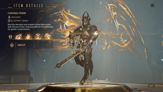 Chroma Build 2020 Guide Warframe Progametalk Over 900% dps buff chroma is the best dps buffing build in warframe. chroma build 2020 guide warframe