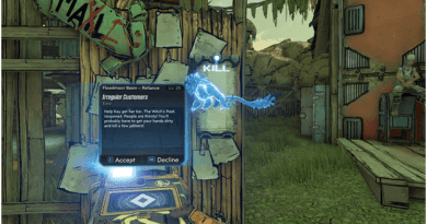 Borderlands 3 Irregular Customers Mission