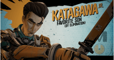 Borderlands 3 Katagawa Jr. (Ninja)