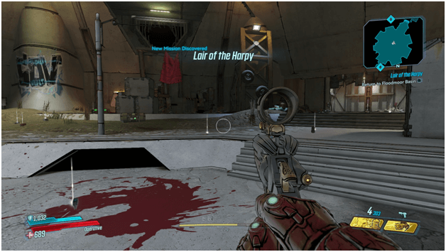 Borderlands 3 Lair of the Harpy Mission